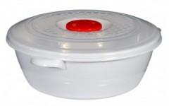 Контейнер для СВЧ 1 л с крышкой и клапаном (60)