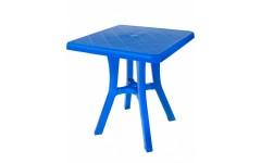 Стол квадратный 70 см (Синий) (1)