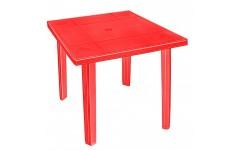 """Стол """"Верона"""" квадратный 80х80 см Красный  (1)"""