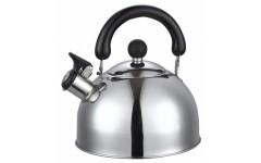 Чайник из нержавеющей стали,2,5л TM DECO с ТРС Капсульное 3 слойное дно  Арт.HY-610-B6 (12)