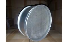 Сито алюмин.  220 мм. с нерж. сеткой (8)-ЭРГАЛ