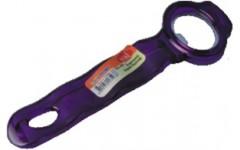 Открывалка металлич.в пластик. корпусе, цвета в ассорт. (48/192)