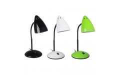 Лампа настольная с выключателем, 40W, 220В, E27, металл, 3 цвета