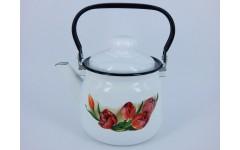 Чайник 2,5л, 01-2711/4-Тюльпаны (4)